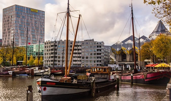 Visitar e Explorar Rotterdam